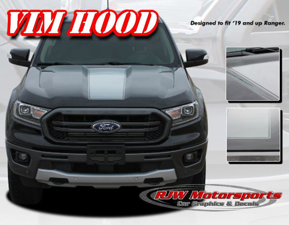 Ranger VIM Hood Decal Kit - 2019-Up