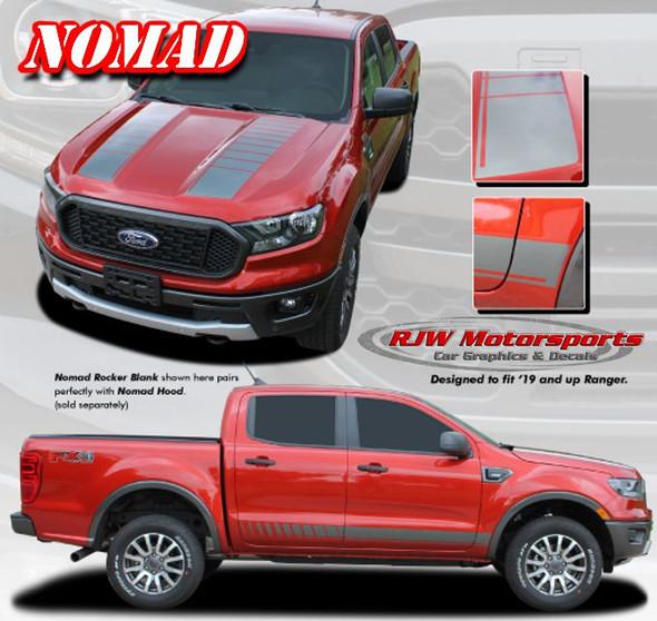 Ford Ranger Nomad Stripes - 2019-Up