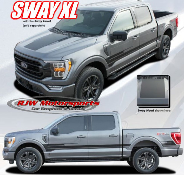 Sway XL Decal kit for Ford F150