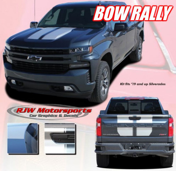 2019-2021 Silverado Racing Stripes