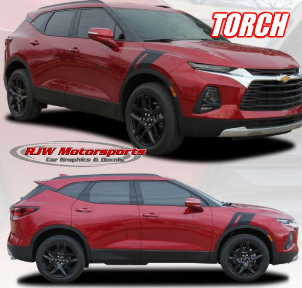 "Chevy Blazer ""Torch"" Hashmark Decals"