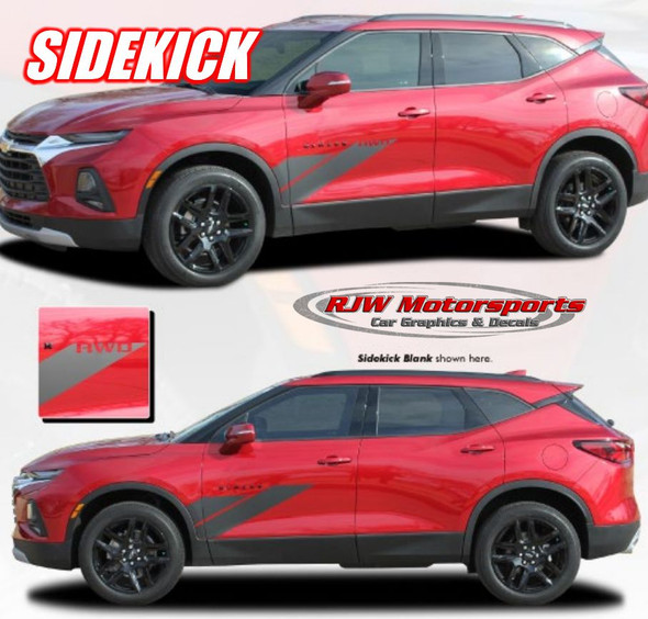 "Chevy Blazer ""Sidekick"" Body Decals"