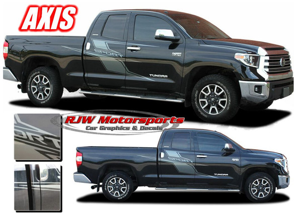 2014-Up Toyota Tundra Axis Stripes