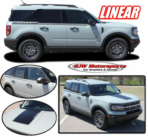 Ford Bronco Sport Linear Decals