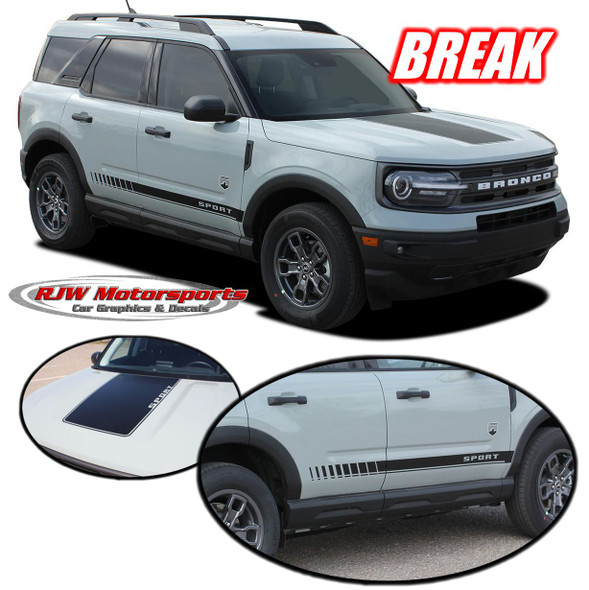 Ford Bronco Sport Break Decals