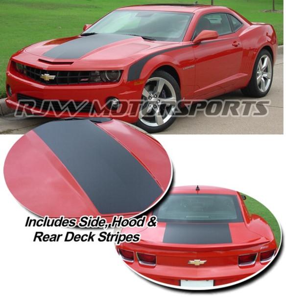 Single Hood Stripe & Side kit for Camaro '09-'13