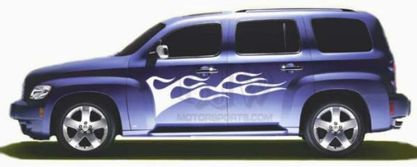 Side Flames for Chevy HHR