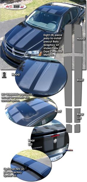 Rally Stripes for Dodge Avenger
