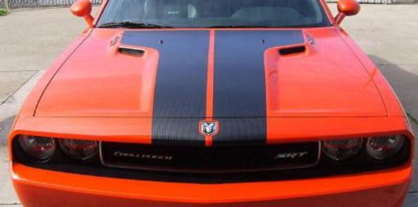 2008-2014 Dodge Challenger Hood Decal