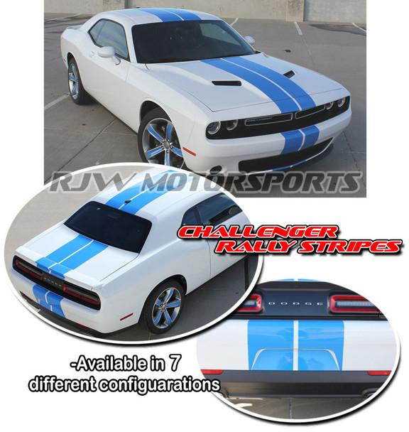 Racing Stripes for 2015-2018 Dodge Challenger