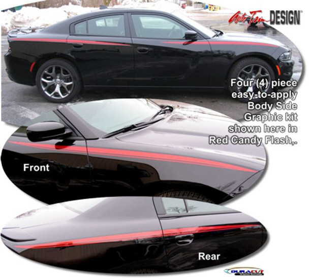 2011-2016 Charger Body Stripes