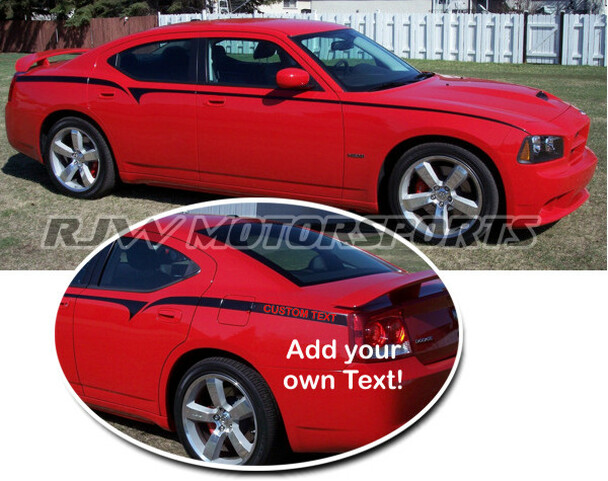 Dodge Charger Body Stripes