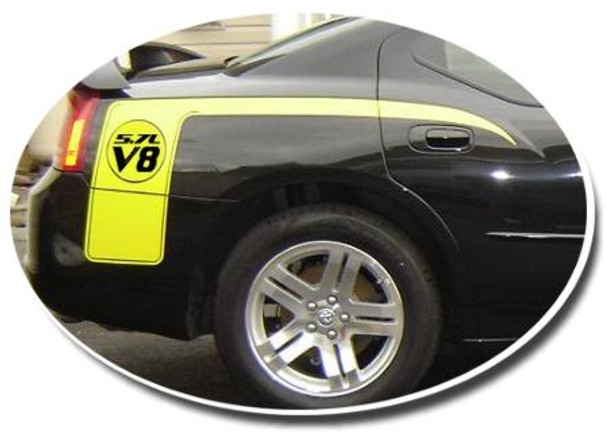 Dodge Charger Hockey Decals