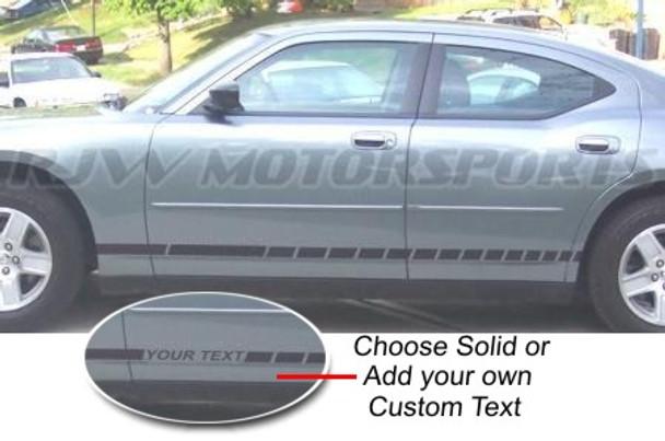Dodge Charger Rocker Stripes 1