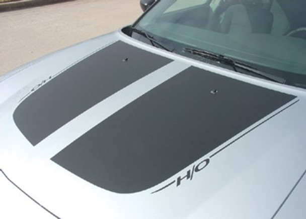 Dual Hood Decals for Charger