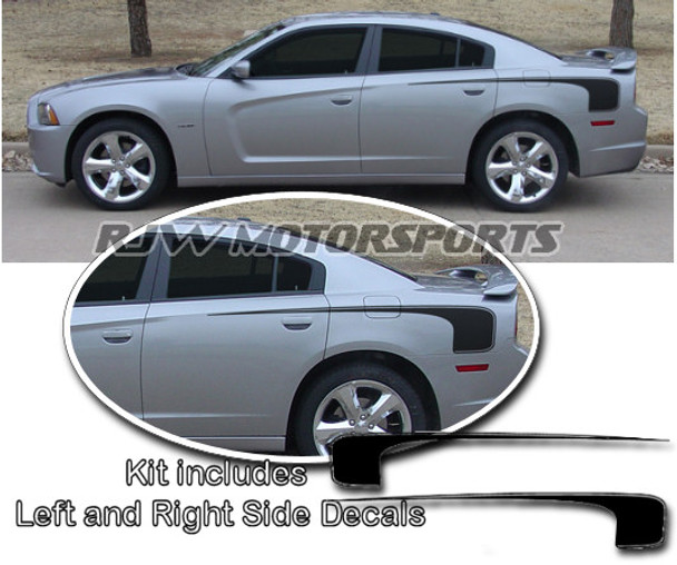 Hockey Stick Style Decals for 2011-Up Charger