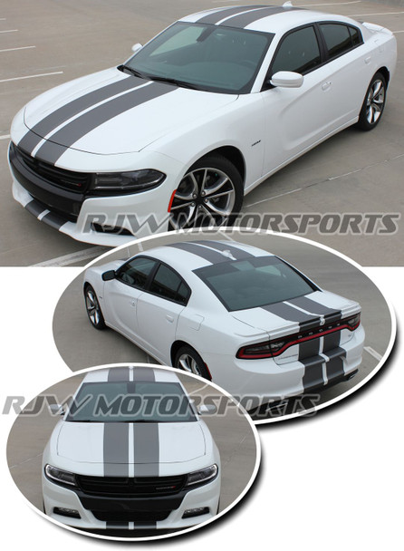 Rally Stripes for 2015-Up Dodge Charger