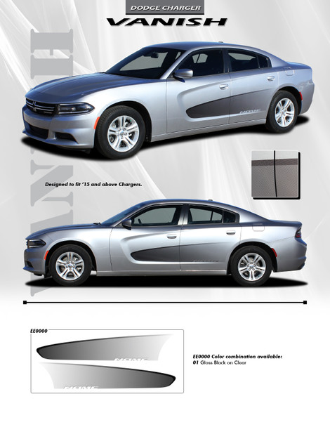 Vanish Decal Kit for 2105-Up Dodge Charger