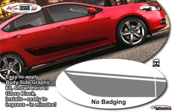 Side Graphic Kit for '13-Up Dodge Dart