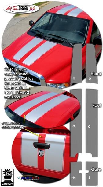 Racing Stripes for 94-08 Dodge Ram