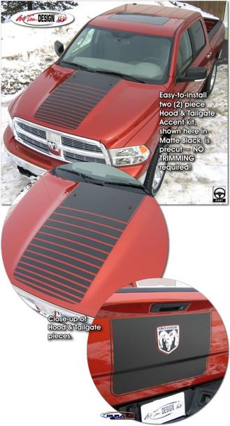 Single Stripe for 09-Up Dodge Ram