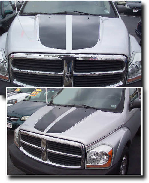 Hood Stripes for '04-'10 Dodge Durango