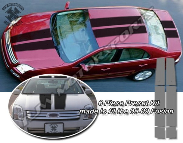 Racing Stripes for 06-09 Ford Fusion