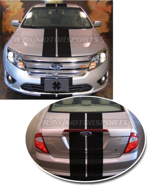 Racing Stripes for 2010-2012 Ford Fusion