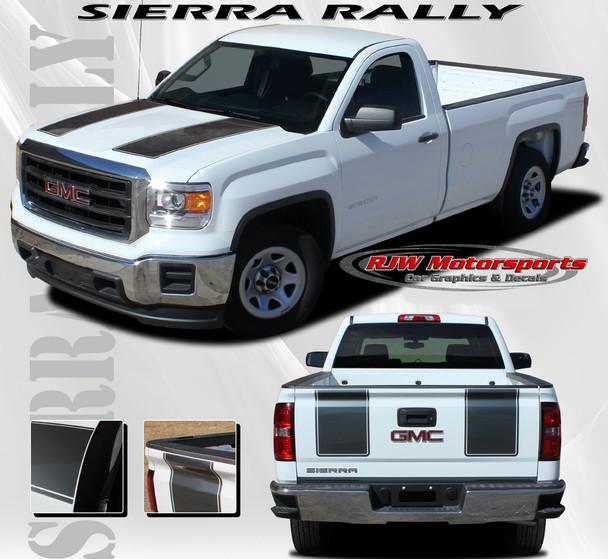 Racing Stripes for 2014-2018 GMC Sierra
