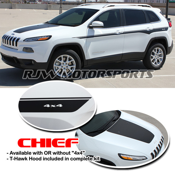 Chief Decal Kit for '14-Up Jeep Cherokee