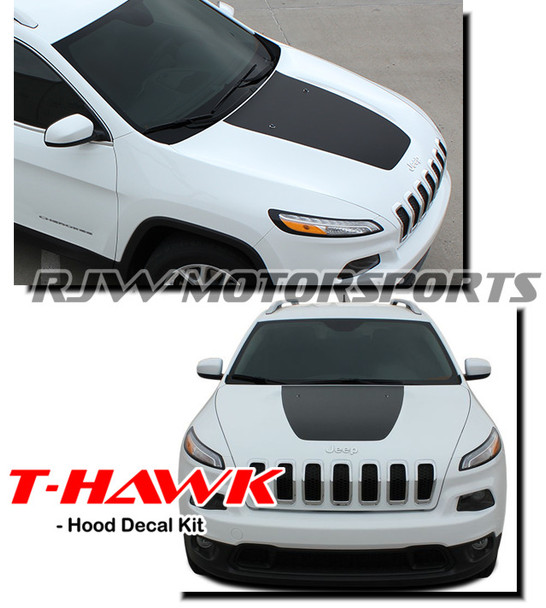 T-Hawk Hood Decal for '14-Up Jeep Cherokee