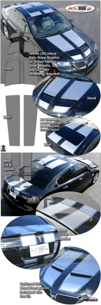 Racing Stripes for '08-'10 G8