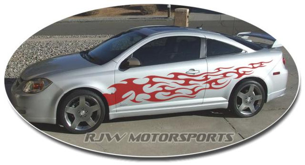 Tribal Flames Decal 53