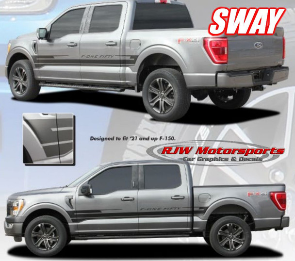 F150 Sway Decal Kit