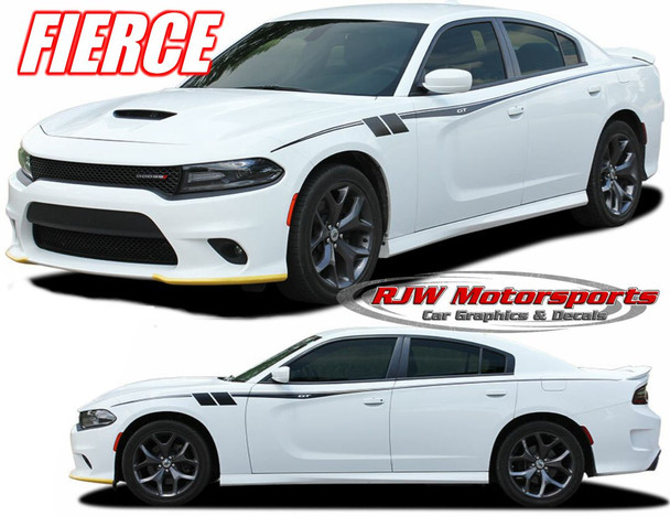 Dodge Charger Fiere Side decals