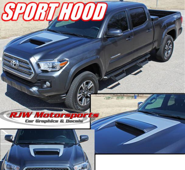 2016-Up Toyota Tacoma Sport Hood Decal