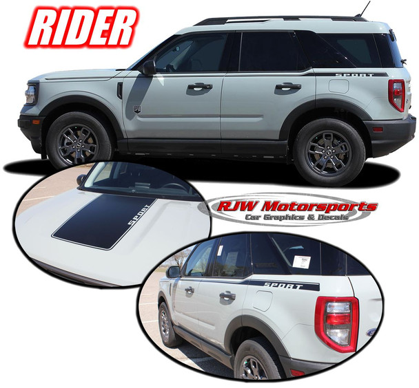 2021-Up Ford Bronco Sport Rider Decals