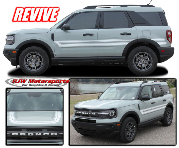 Ford Bronco Sport Revive Decals