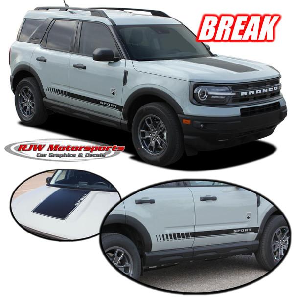Ford Bronco Sport Break Decals