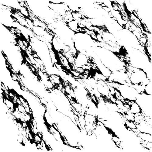 Carrara Marble Decor Stamps
