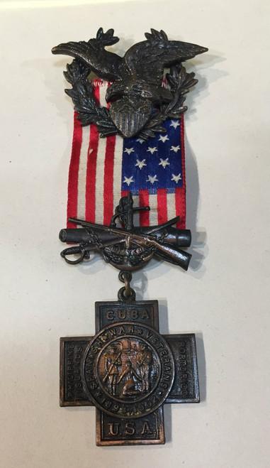 Spanish War Veteran's Medal