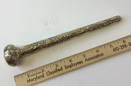 Antique Sterling Umbrella Handle