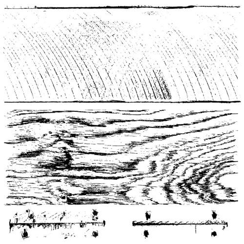 Barnwood Planks 12x12 Decor Stamp