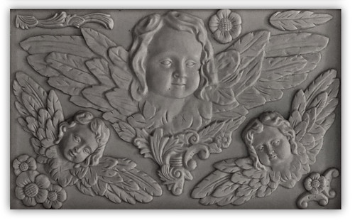 Classical Cherubs 6x10 Decor Moulds