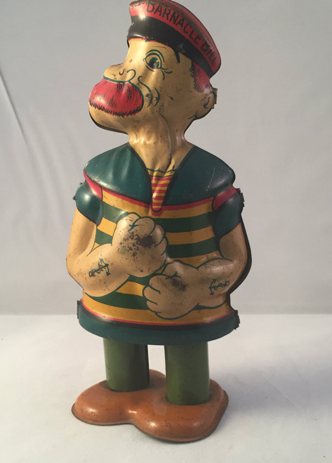 Ca1930 Barnacle Bill J Chein Tin Wind Up Toy
