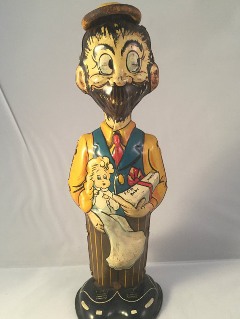 1947 B O Plenty Wind Up Tin Toy Marx