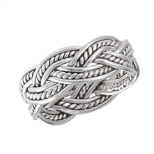 Sterling Weave Ring 2333