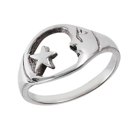 Sterling Tree Of life Ring 2684