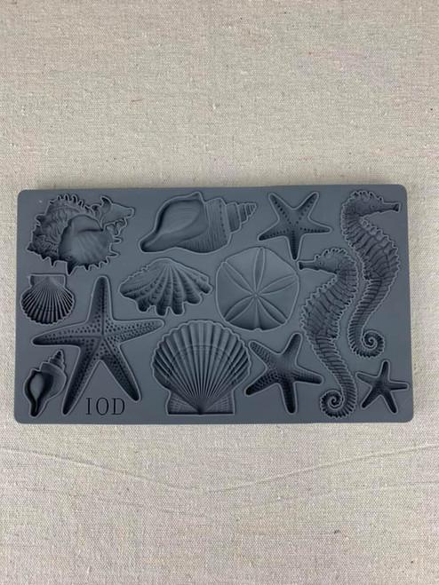 Sea Shells 6x10 Decor Moulds