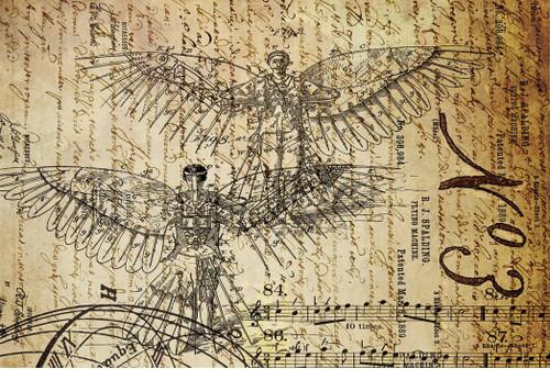 Dreams Of Flight 1 Decoupage Paper